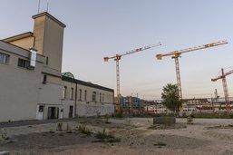 Bluefactory planifie la construction de son premier bâtiment
