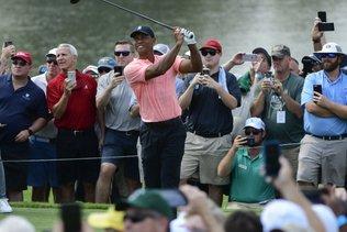 Tour Championship/1er tour: Woods se prend à rêver