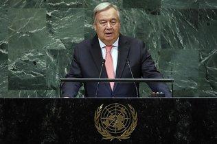 """Antonio Guterres déplore """"un monde de plus en plus chaotique"""""""