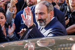 Le Premier ministre arménien Nikol Pachinian annonce sa démission