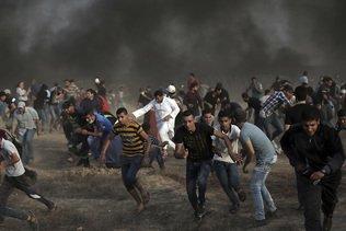 Manifestations à la frontière Gaza-Israël, 130 Palestiniens blessés
