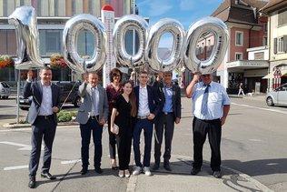 Payerne accueille son 10 000e habitant
