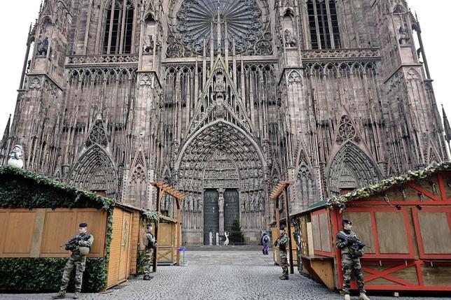 Le tireur de Strasbourg introuvable