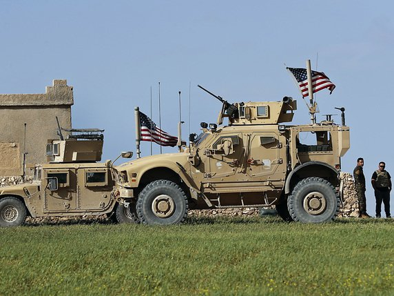 Quelque 2000 soldats américains, principalement des commandos, combattent en Syrie (archives). © KEYSTONE/AP/HUSSEIN MALLA