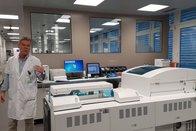 Un nouveau laboratoire à l'hôpital broyard