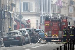 Incendie et forte explosion due au gaz à Paris: des blessés graves