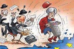 Theresa May provoque un séisme politique au Royaume-Uni