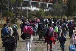 Mexique: des centaines de migrants repartent vers les Etats-Unis