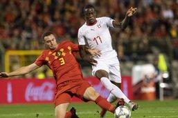 La Suisse avec une défense à quatre et avec Fernandes