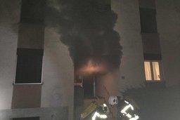 Incendie dans un immeuble bullois