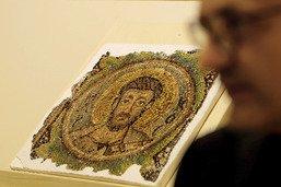 Exposition à Nicosie d'une mosaïque du VIe siècle retrouvée