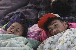 """Les mineurs de la """"caravane"""" menacés par la criminalité à Tijuana"""