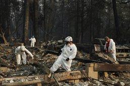 La pluie complique les recherches de victimes en Californie