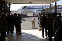 Les délégués houthis en Suède pour négocier la paix yéménite