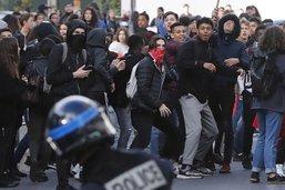 Lycées: 700 interpellations après une nouvelle journée d'incidents