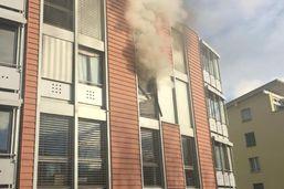 Appartement en feu à Bulle: pas de blessé