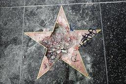 Arrêté pour avoir dessiné une croix gammée sur l'étoile de Trump