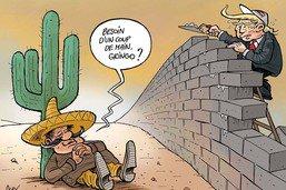 Le mur de Trump n'avance pas très vite