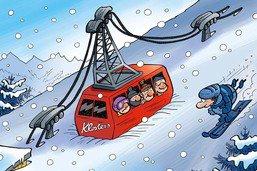 Il a trop neigé en Suisse orientale