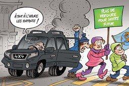 Les jeunes manifestent pour le climat