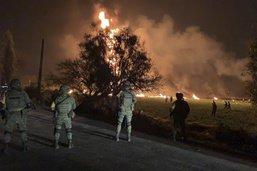 Incendie d'un oléoduc au Mexique: le bilan grimpe à 66 morts