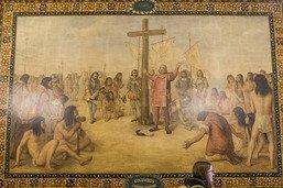 L'université de Notre Dame va recouvrir des fresques de Colomb