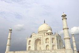 Et soudain paraît le Taj Mahal