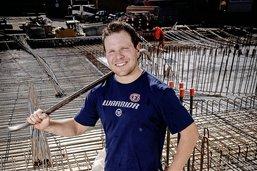 «J'ai déjà travaillé sur un chantier»