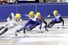 En Suisse, le short track patine