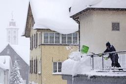 La neige crée le chaos