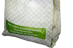 Le sac compostable est indésirable