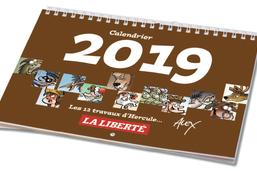 Calendrier Alex 2019