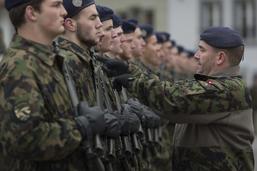 La lessive de l'armée diminue