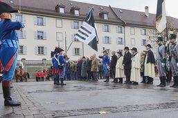 Les 100 ans de l'Armistice célébrés à Fribourg