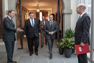 La Suisse et la Lituanie veulent renforcer leur collaboration