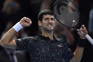 Novak Djokovic rejoint Alexander Zverev en finale à Londres
