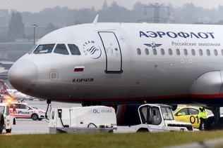 Un homme tué par un avion au décollage à Moscou