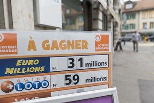 Pas de millionnaire au tirage du Swiss Loto mercredi