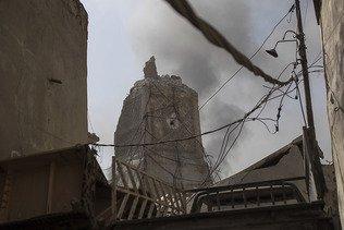 Début de la reconstruction de la célèbre mosquée de Mossoul