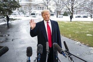 Trump annule le déplacement de la délégation américaine à Davos