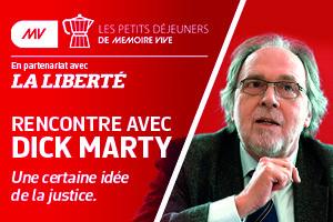 Rencontre avec Dick Marty