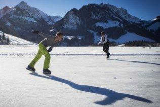 Le Lac Noir accueille promeneurs et patineurs
