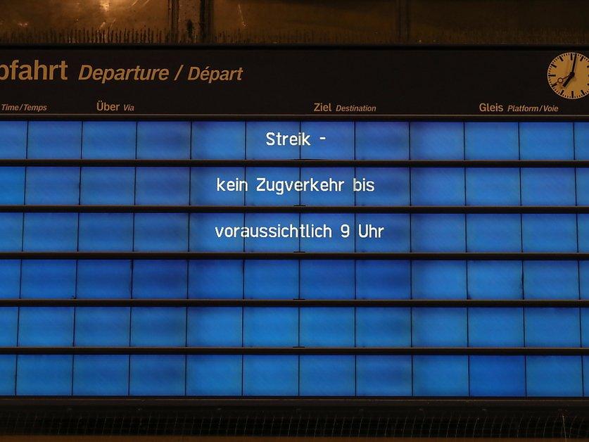 Accord salarial dans les chemins de fer en Allemagne