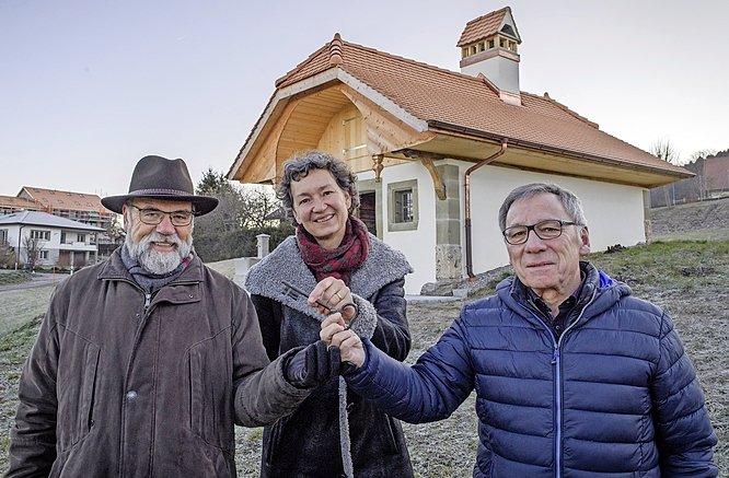 Rénovation du four à pain d'Arconciel