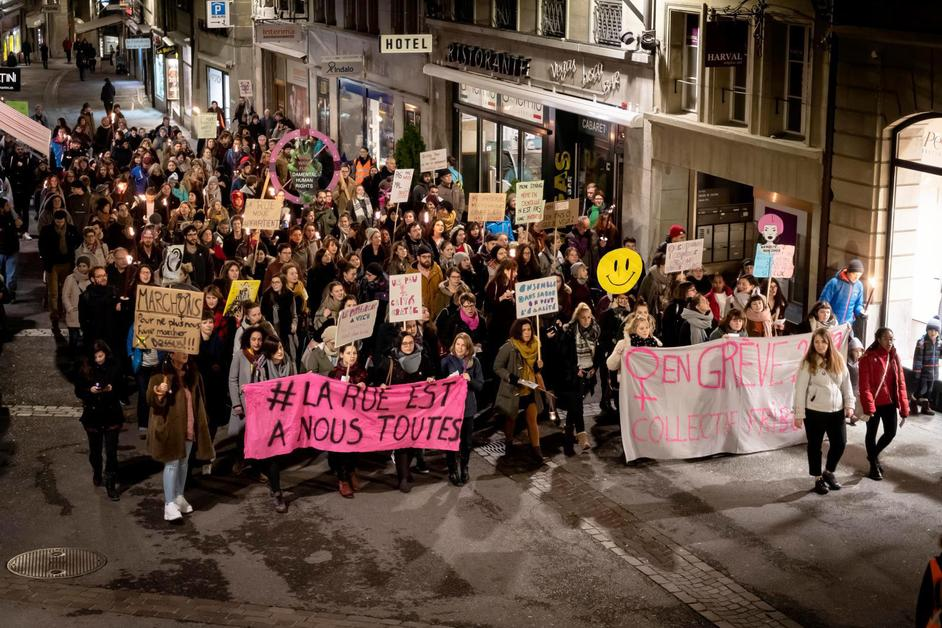 Marche contre les violences faites aux femmes