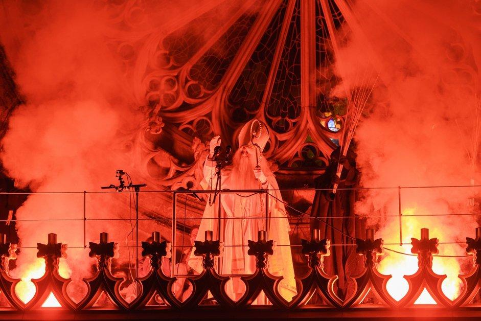 La foule a célébré Saint-Nicolas