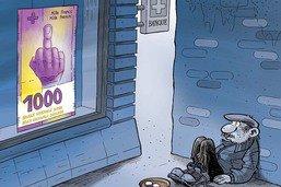 La BNS présente son nouveau billet de 1000 francs