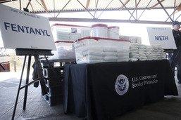 Les douanes américaines saisissent 115 kilos de fentanyl