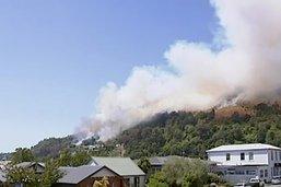 Un important feu de forêt risque de durer des semaines