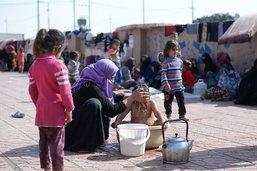 Plus de 2500 enfants de 30 pays entassés dans trois camps syriens